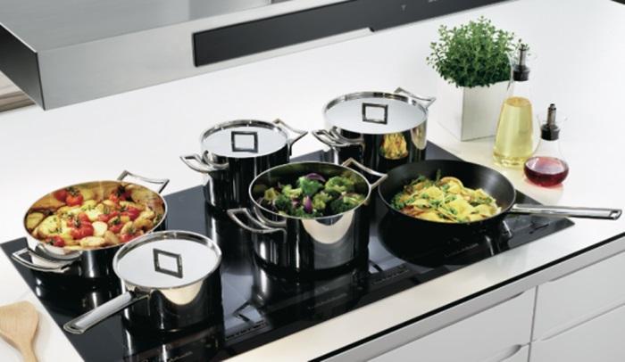 Bếp từ có thể sử dụng được nhiều nồi nấu
